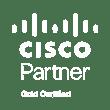 Cisco Gold Partner White 2019